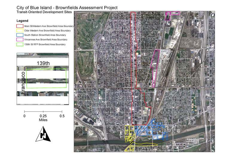 TOD Assessment Areas - Boundary Map